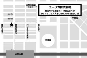 地図 - ユーリカ株式会社